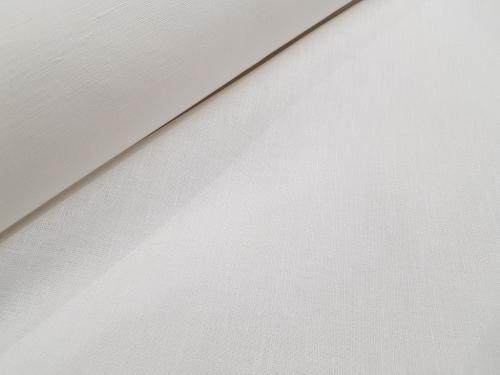 Poollinane kangas 06C226 / OBR1300; Laius: 150 cm; Kaal: 175 gr/m²; Koostis: 54% linane, 46% puuvillane;