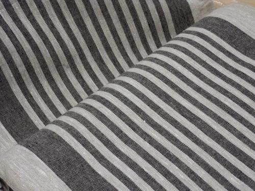 10C492 / OBR1732 1/24 (черный); Ширина: 50 см; Вес: 310 г/м²; Состав: 100% лен;