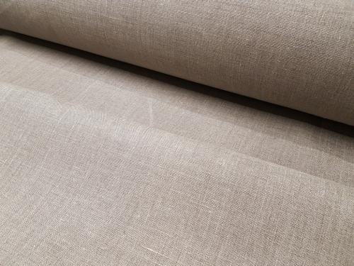 Linane kangas 8C215 / OBR789; Laius: 150 cm; Kaal: 215 gr/m²; Koostis: 100% linane; Värv: naturaalne
