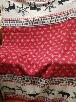 18C240 – 170x120 – color 1, design 334 laplandia – 84% linen, 16% cotton | 26 €