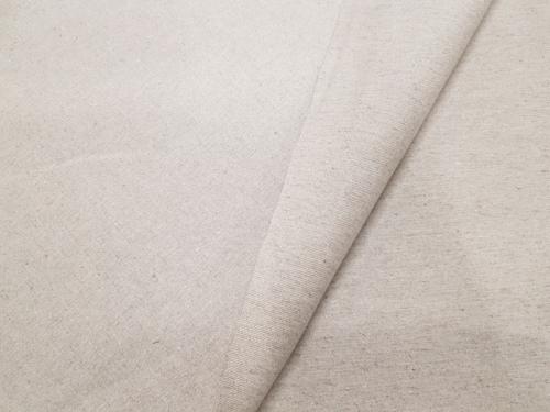 Полульняная ткань 16C156 KMXY; Ширина: 145 см; Вес: 305 г/м²; Состав: 46% лен, 54% хлопок; Цвет: натуральный;