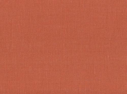 Linen fabric 4C33 / OBR491 MXY color 1270 terracotta; Width: 150 cm; Weight: 185 gr/m²; Material: 100% linen; Softened linen fabric.  | 6,44 €/m