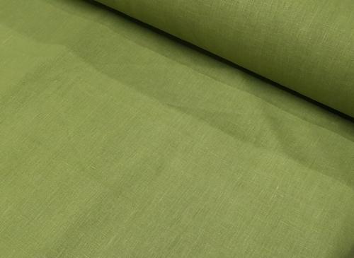 Linane kangas 09C52 / OBR1542 MXY värv 1349 roheline; Laius: 145 cm; Kaal: 245 gr/m²; Koostis: 100% linane; Pehmendatud linane kangas.   | 6,44 €/m