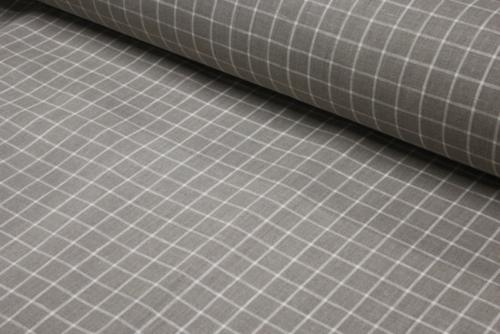 Linen fabric 08C408 grey; Width: 150 cm; Weight: 215 gr/m²; Material: 100% linen;