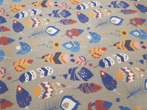 Linen fabric 4C33 / OBR491 MXY 477/1; Width: 150 cm; Weight: 185 gr/m²; Material: 100% linen; Softened linen fabric.