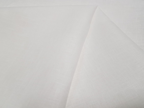 Linen fabric 4C33 / OBR491; Width: 150 cm; Weight: 185 gr/m²; Material: 100% linen; Color: natural white