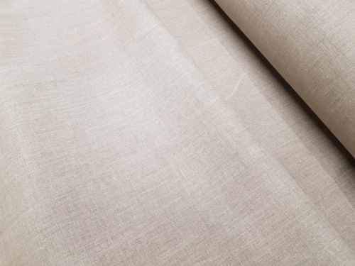 Linen fabric 8C215 / OBR789 MXY; Width: 150 cm; Weight: 215 gr/m²; Material: 100% linen; Color: natural; Softened linen fabric.