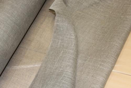 Linane kangas 09C348 / OBR1566; Laius: 145 cm; Kaal: 120 gr/m²; Koostis: 100% linane; Värv: naturaalne