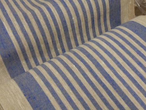 Linane kangas 10C492 / OBR1732 1/1 (sinine); Laius: 50 cm; Kaal: 310 gr/m²; Koostis: 100% linane kangas;  | 2,73 €/m