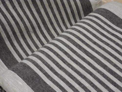 Linane kangas 10C492 / OBR1732 1/24 (must); Laius: 50 cm; Kaal: 310 gr/m²; Koostis: 100% linane kangas;