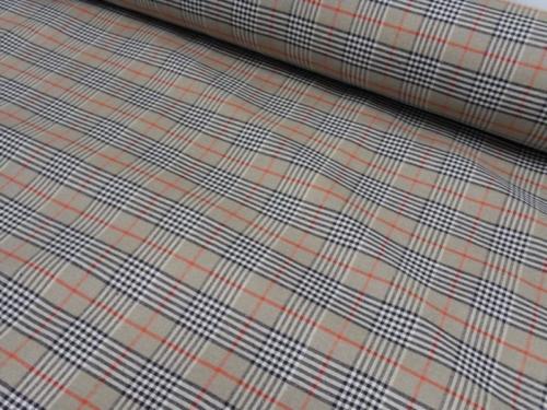 Linen fabric 15C132 XY 1-4; Width: 140 cm; Weight: 260 gr/m²; Material: 100% linen;
