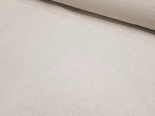 Semi-linen fabric 02C3 / OBR1012 MXY; Width: 150 cm; Weight: 210 gr/m²; Material: 58% linen, 42% cotton; Color: natural;  | 3,96 €/m