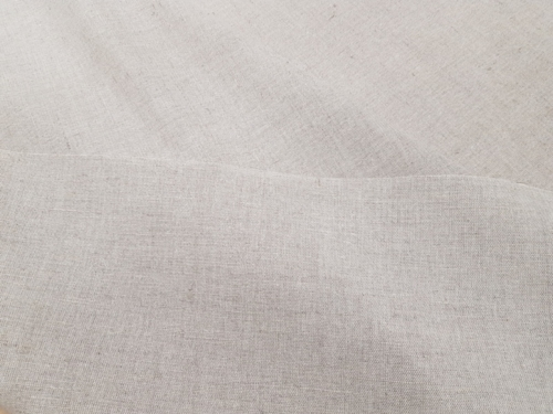 Semi-linen fabric 02C3 / OBR1012; Width: 150 cm; Weight: 210 gr/m²; Material: 58% linen, 42% cotton; Color: natural;  | 3,92 €/m