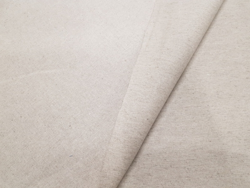 Semi-linen fabric 16C156 KMXY; Width: 145 cm; Weight: 305 gr/m²; Material: 46% linen, 54% cotton; Color: natural;